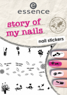 Наклейки для ногтей Story of my nails nail stickers Essence 06: фото