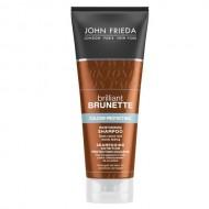 Увлажняющий шампунь для защиты цвета темных волос John Frieda Brilliant Brunette COLOUR PROTECTING 250 мл: фото
