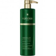 Восстанавливающий шампунь для экстремально поврежденных, ломких волос Absolue keratine Rene Furterer Salon 600 мл: фото
