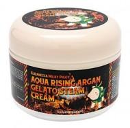 Крем паровой увлажняющий с маслом арганы ELIZAVECCA Milky Piggy Aqua Rising Argan Gelato Steam Cream: фото