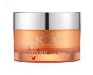 Отбеливающий крем для лица с витаминным комплексом SCINIC Vita ade dual cream 50мл: фото