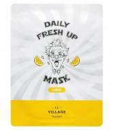 Маска с экстрактом лимона VILLAGE 11 FACTORY Daily Fresh up Mask Lemon: фото
