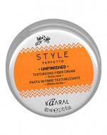 Паста волокнистая для текстурирования волос Kaaral Style Perfetto UNFINISHED TEXTURIZING FIBER CREAM 80мл: фото