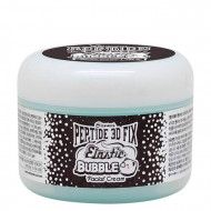 Крем для лица пузырьковый с пептидами Elizavecca peptide 3d fix elastic bubble facial cream 100гр: фото