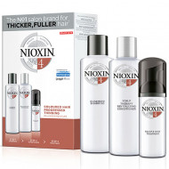 Набор для волос 3х-ступенчатая система XXL-формат Nioxin System4 300+300+100 мл: фото