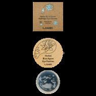 Гидрогелевые патчи с экстрактом голубой агавы L.SANIC HERBAL BLUE AGAVE HYDROGEL EYE PATCHES 60 шт: фото