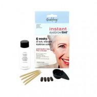Краска-хна в капсулах для бровей Godefroy Eyebrow Tint Graphite набор 15 капсул (графит): фото