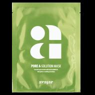 Маска тканевая для проблемной кожи с расширенными порами и склонностью к высыпаниям Avajar Pore A-Solution Mask 10 шт: фото