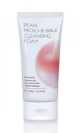 Пенка для умывания May Island Pearl Micro-Bubble Cleansing Foam 120мл: фото